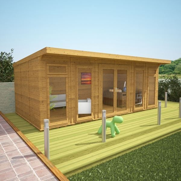 6m x 3m waltons insulated garden room free installation