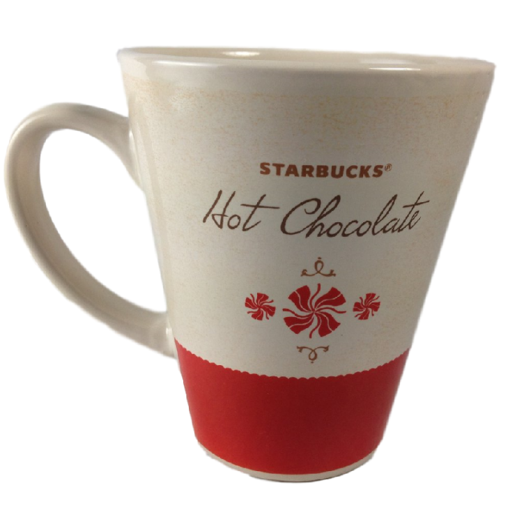 STARBUCKS Hot Chocolate extra large mug