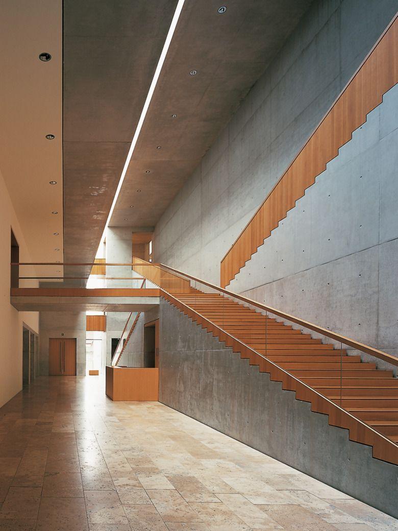 Treppenhaus architektur detail  Museum in Schweinfurt
