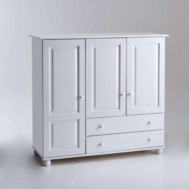 armoire pin massif redmond tres
