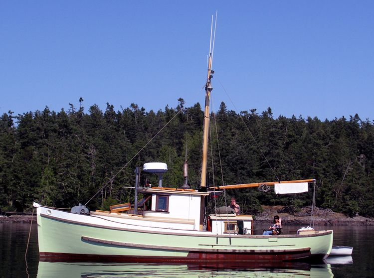 A classic pacific northwest troller yacht conversion for Northwest classic