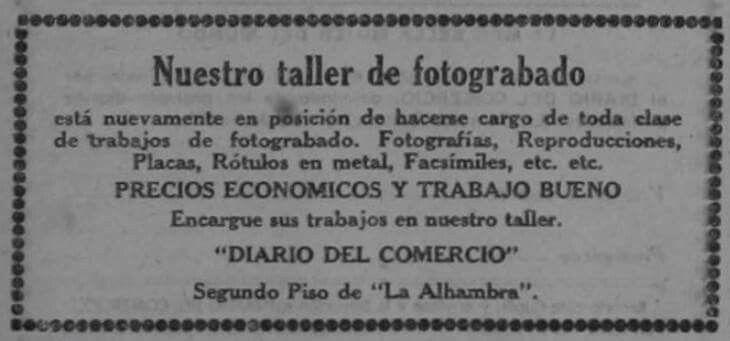 Diario del Comercio.19-6-1921
