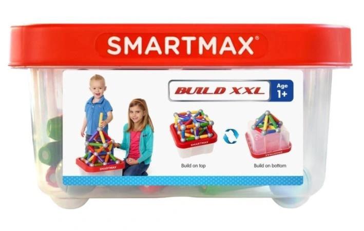 Smartmax Zestaw Edukacyjny Klocki Magnetyczne In 2020 Kids Built In Storage Unique Buildings