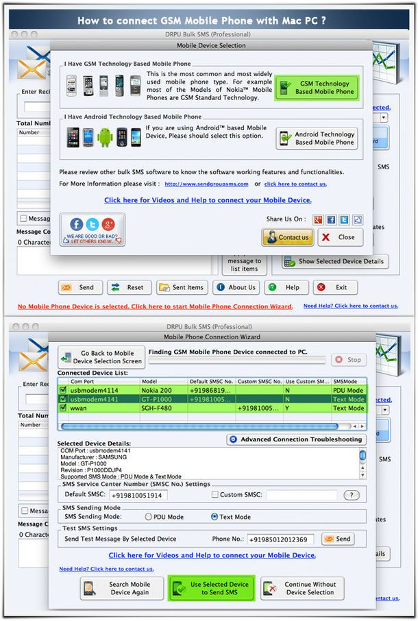 How to Send Bulk SMS from Mac Pc to Mobile? | IT_01
