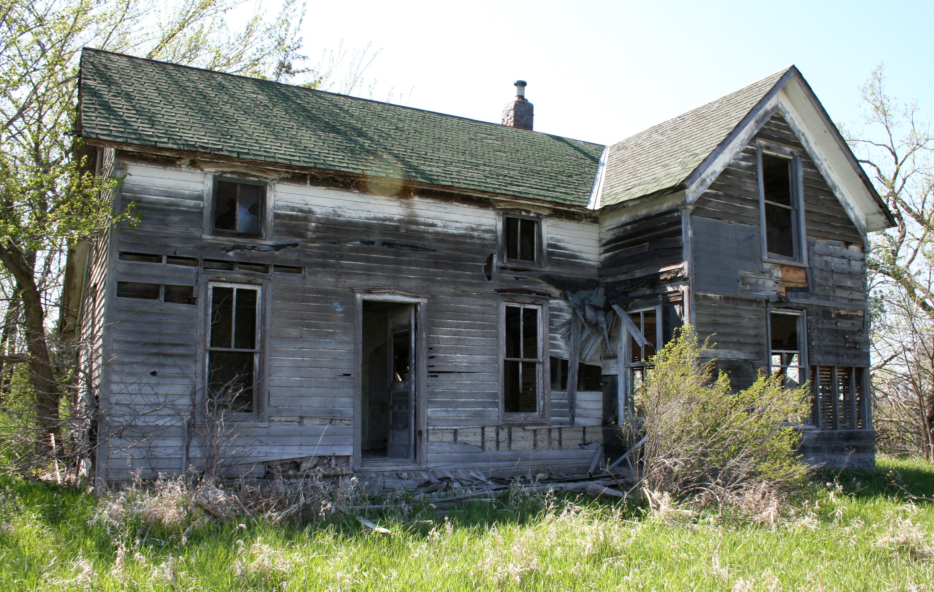 This Photo Was Taken At An Abandoned House Somewhere Between Hiawatha And Holton Kansas This Stock Is Free To Use
