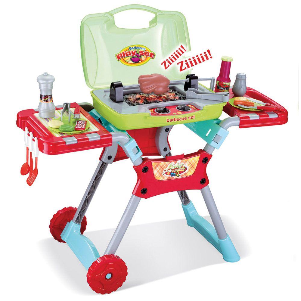 Barbecue giocattolo (da Dmail)
