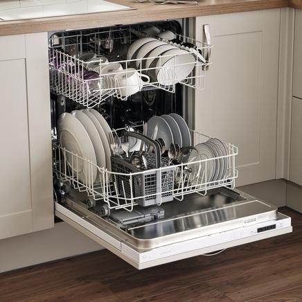 Lamona fully integrated dishwasher | Dishwashers | Howdens Joinery ...