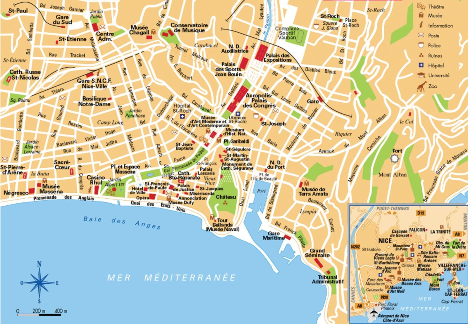 Parigi Centro Cartina