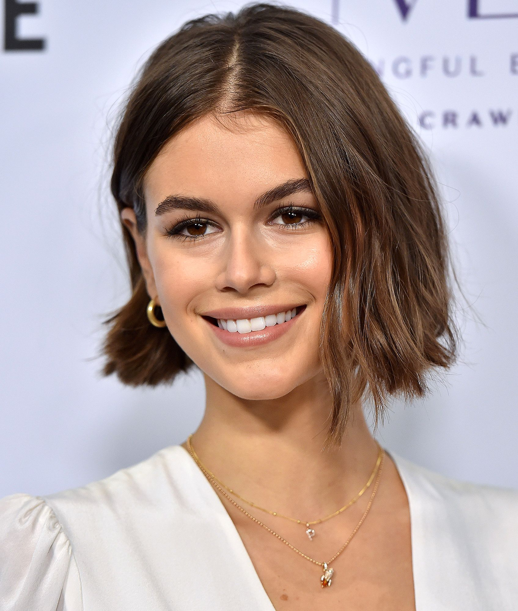 Kaia Gerber Wears 'P' Initial Pendant Necklace After Sparking Relationship Rumors with Pete Davidson