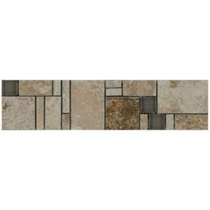 Decorative Accent Tile Enchanting Marazzi Travisano Trevi And Bernini 3 Inx 12 Inglass Accent Design Ideas