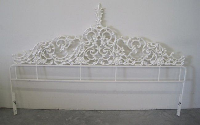 Related Image Headboard Redo Wrought Iron Antique Headboards Cottage