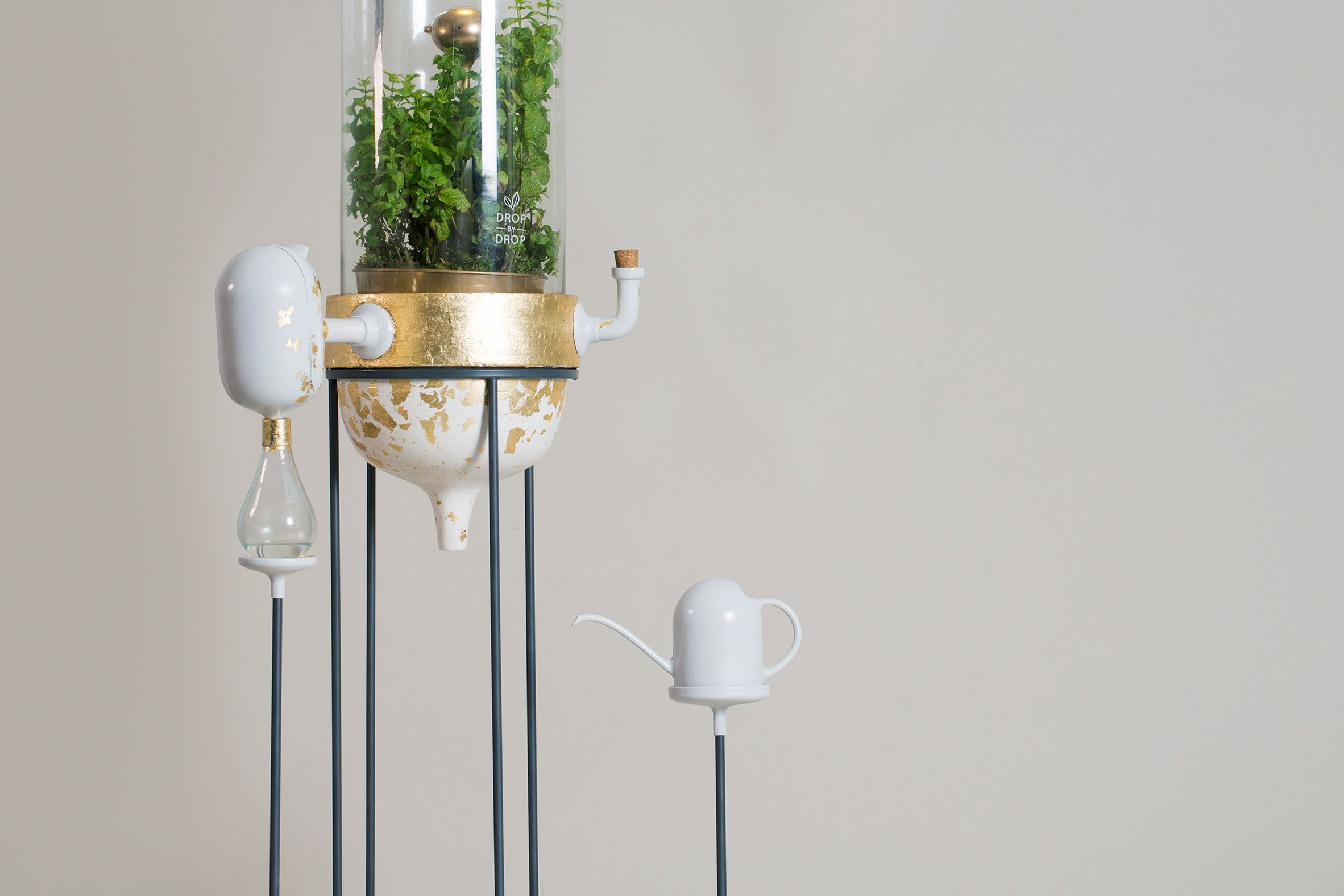 Drop By Drop Is A Plant Based Water Filter That Works As A Mini
