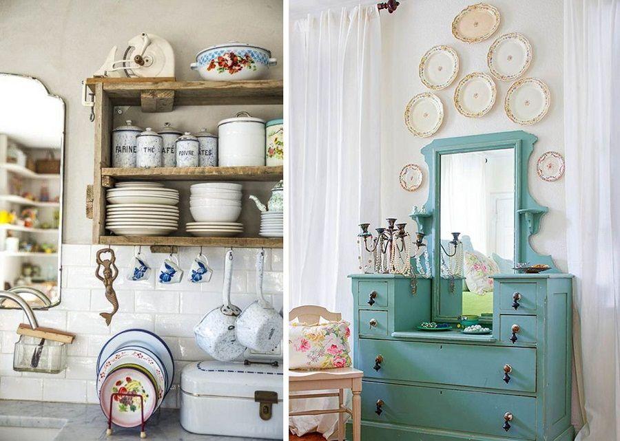 Estilo vintage decoraci n con antiguedades decoraci n ideas estilo vintage retro - Decoracion con antiguedades ...