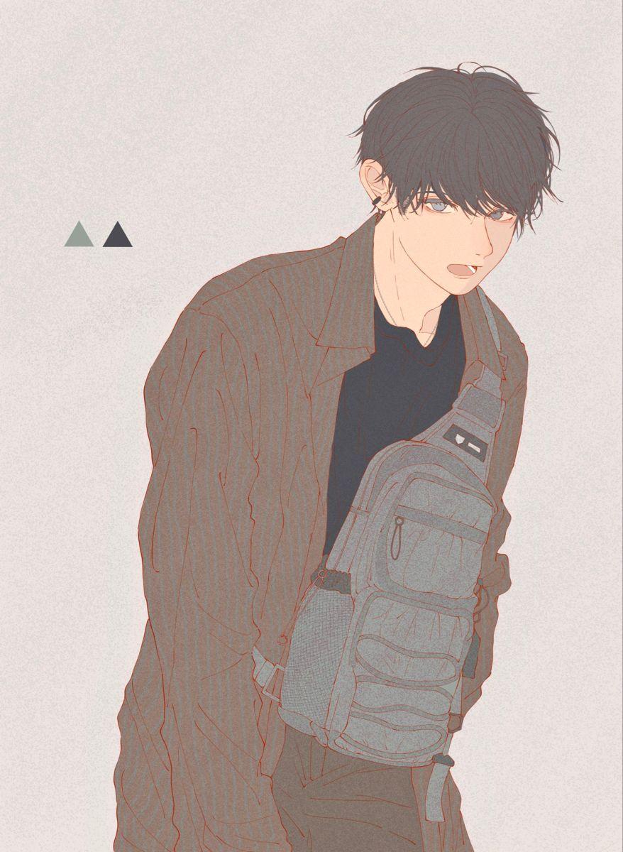 My fav. Art에 있는 Dae Hii님의 핀 2020 캐릭터 일러스트, 남자 그림, 그림