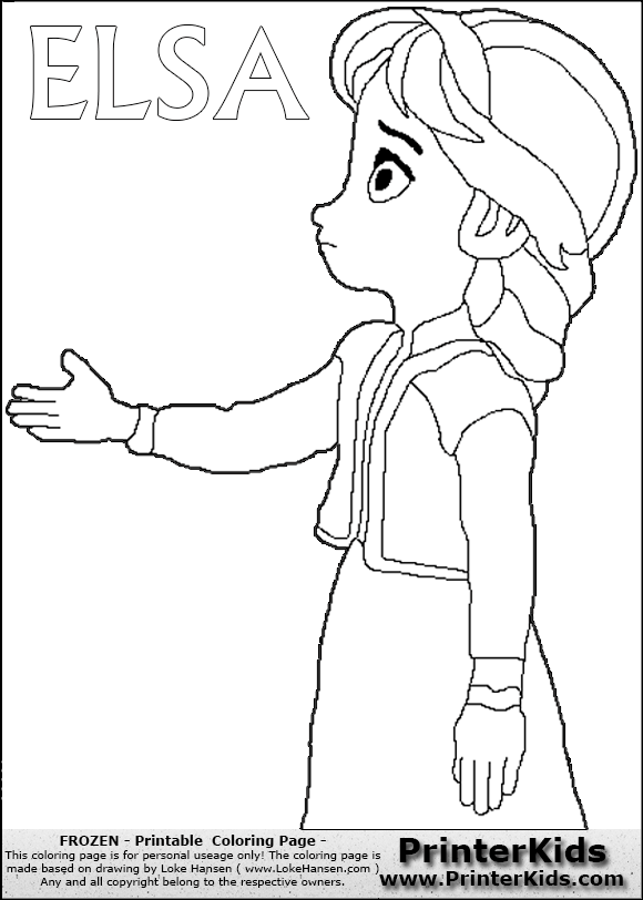 Coloring Book Frozen Download : Frozen coloring pages elsa disney frozen young elsa nice to