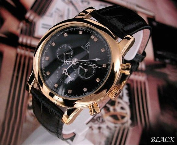 Herrklocka IK Colouring - Gentleman (svart)  ik  skeleton  ikcolouring   armbandsur  klocka  klockor  herrklocka  herrklockor  runns  watch  watches 9bdff060d497a