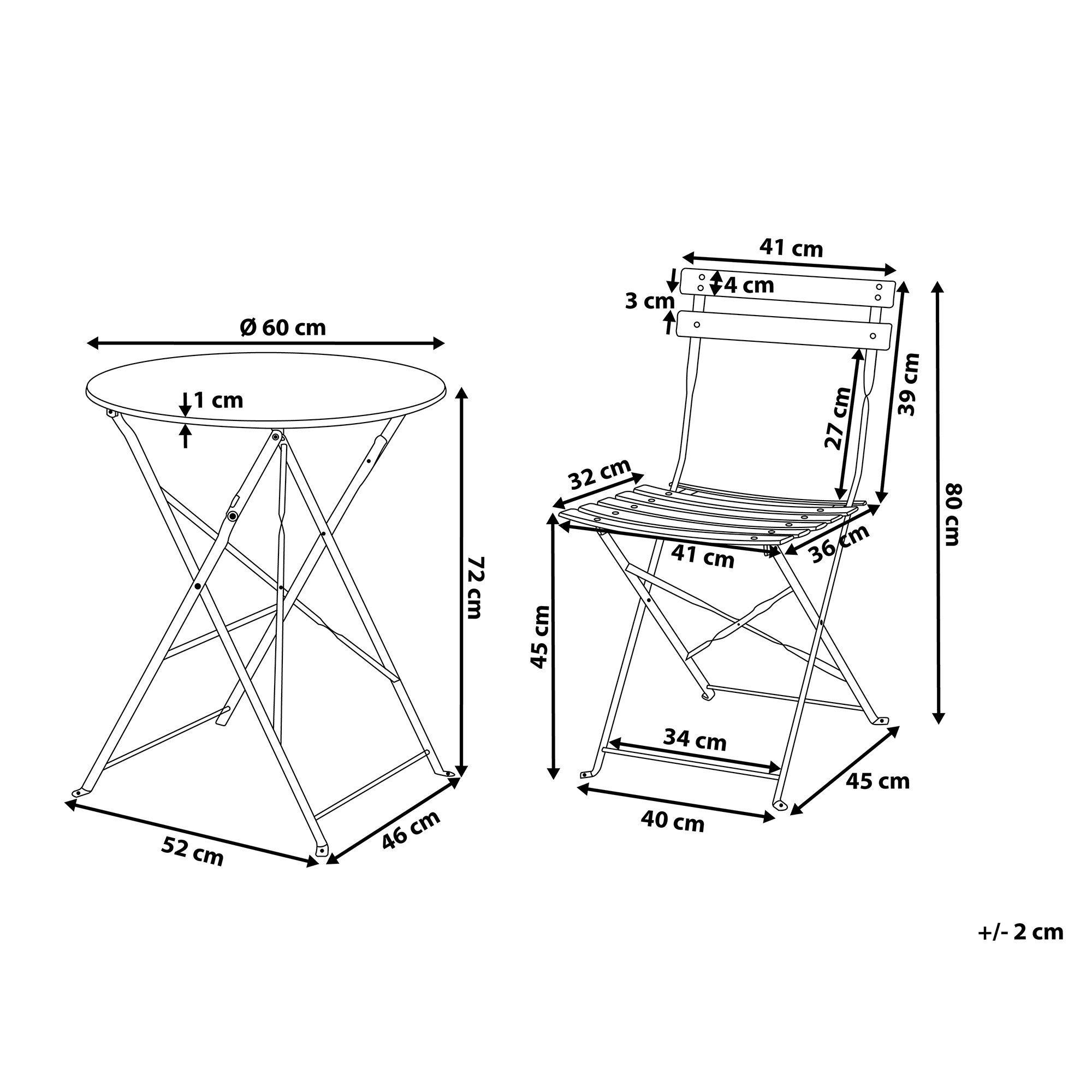 Gartentisch Mit Zwei Stuhlen Fur Schone Nachmittage Auf Der