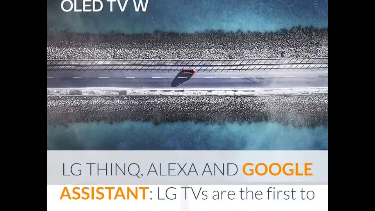 "Review LG SIGNATURE OLED65W9PUA Alexa Builtin W9 65"" 4K"