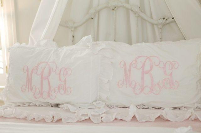 ruffled sheets @Leah Scharf