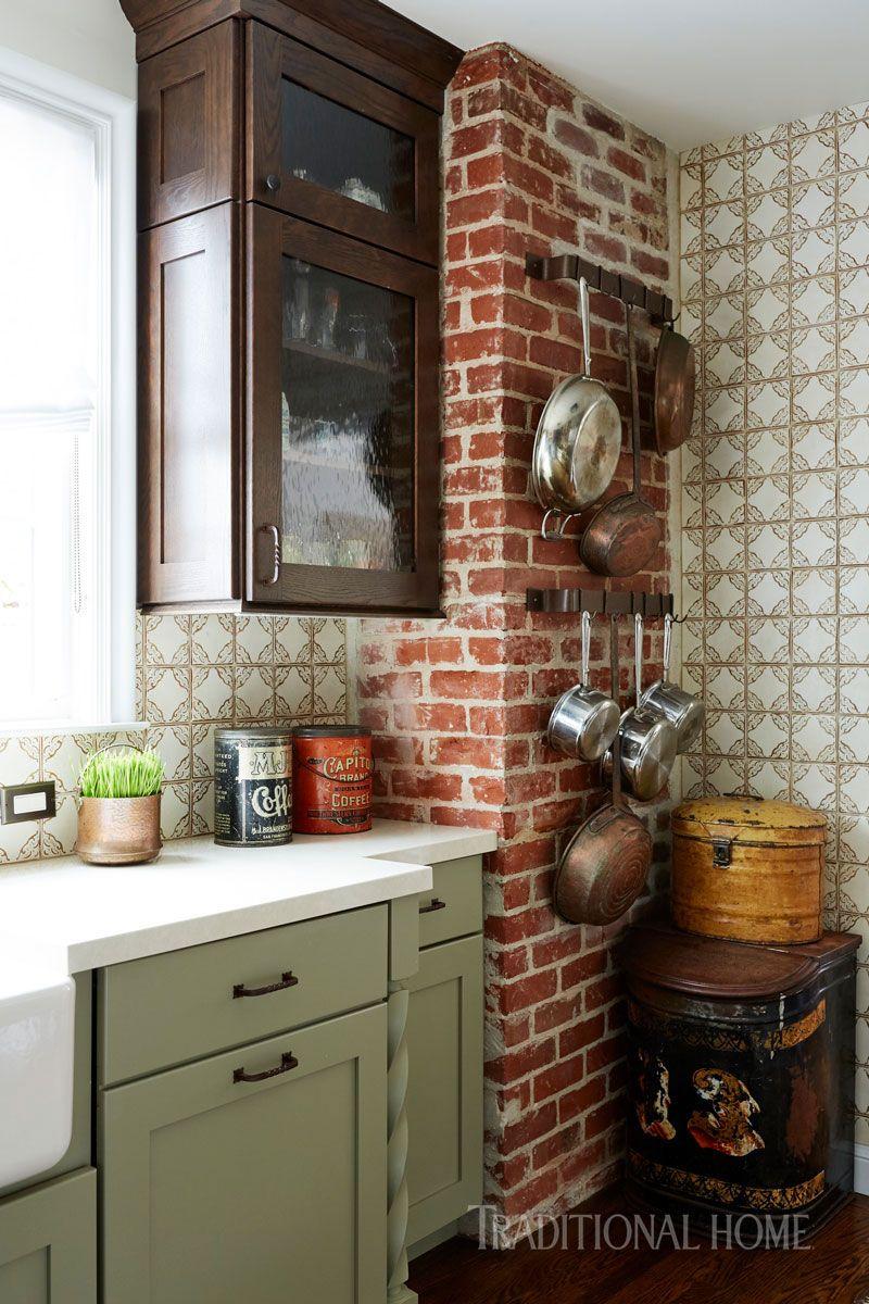 Wunderbar Küchen Mit Weißen Schränken Und Grauen Wänden Fotos ...