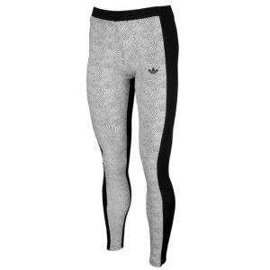 6d484c3c08e11 adidas Originals Trefoil Leggings - Women's - White/Black   Stuff to ...