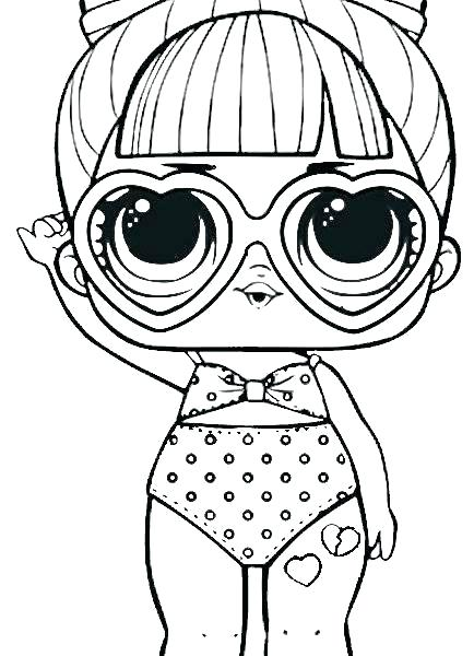 Lol Doll Coloring Pages Google Search Coloring Pages Lol Dolls Lol