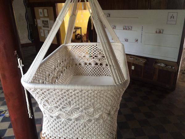 Baby Hanging Bassinet Hanging Cradle Hanging Crib 100 Handmade Organic Cotton Classic Mission Hammocks 5 With Images Hanging Cradle Hanging Crib Hanging Bassinet