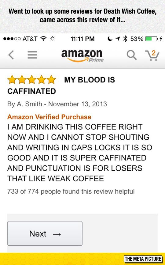 death wish coffee review random funny pinterest coffee review