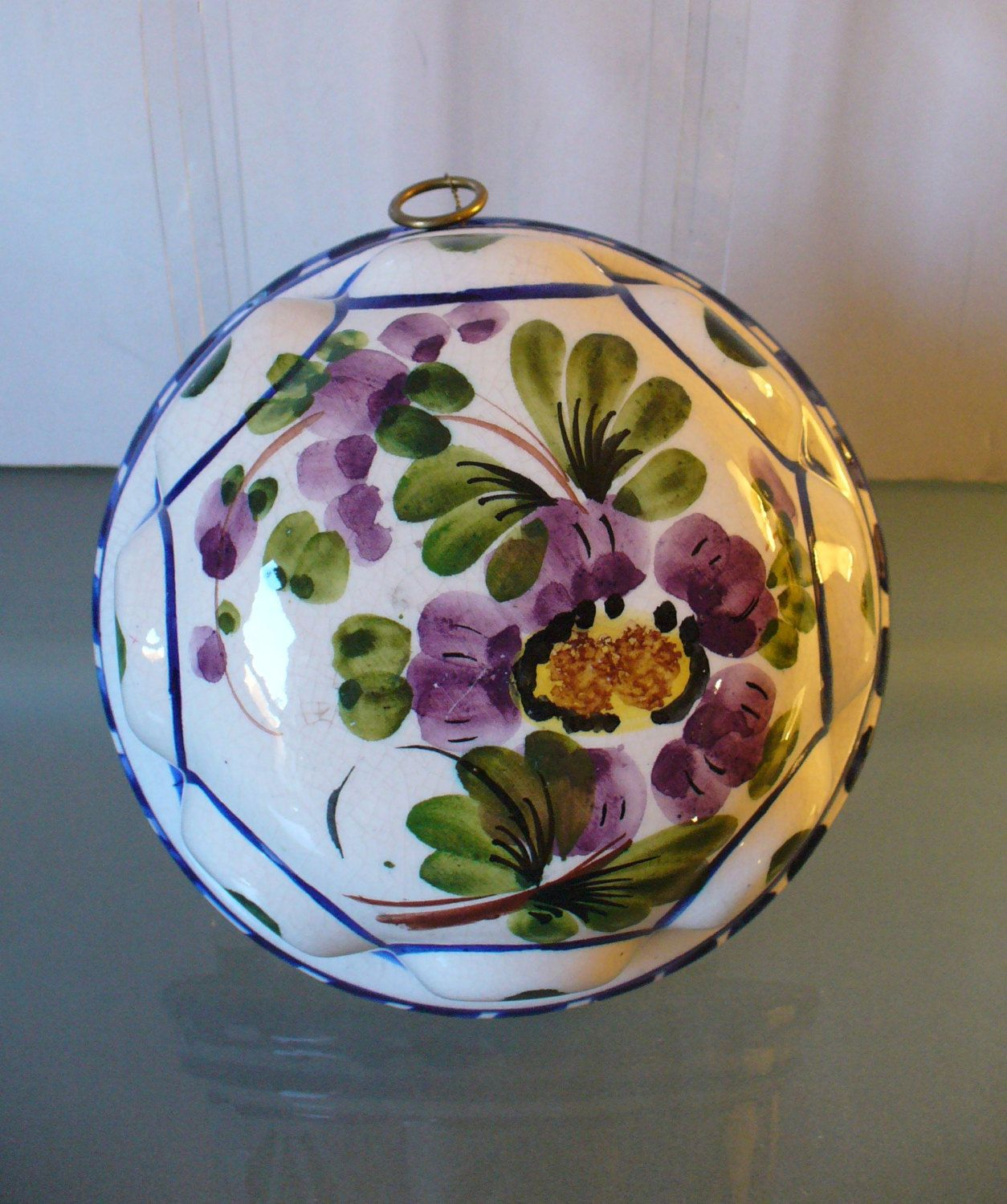Vintage Bassano Made In Italy Ceramic Wall Hanging