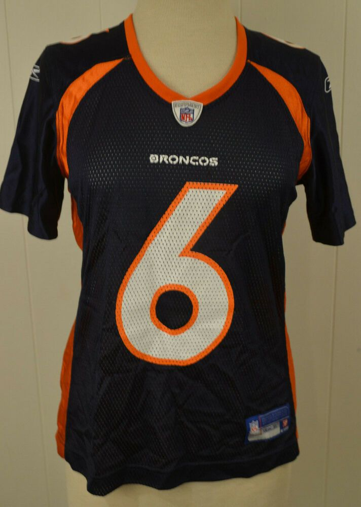 Women s Reebok Denver Broncos Jersey  6 Jay Cutler NFL Size Medium Blue  Vintage  Reebok  DenverBroncos 7350d2365
