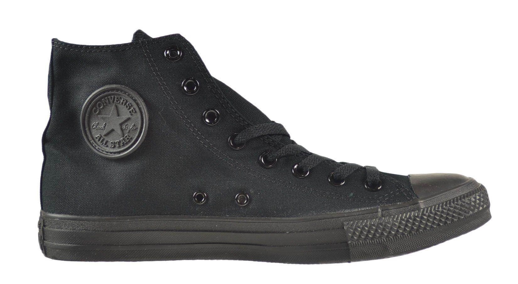 e3285c8d1c65 Converse Chuck Taylor All Star HI Unisex Shoes Black Monochrome ...