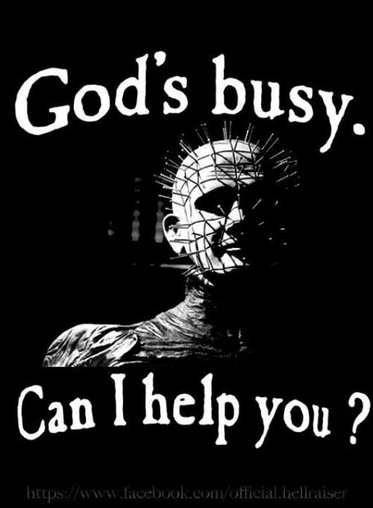 Pinhead Quotes : pinhead, quotes, Horror, Creepster, Movies,, Hellraiser,, Films