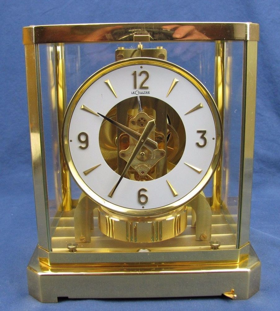 8b043978a45 Vintage LeCoultre Atmos 528-8 Perpetual Motion Clock - Working - Serial    297293