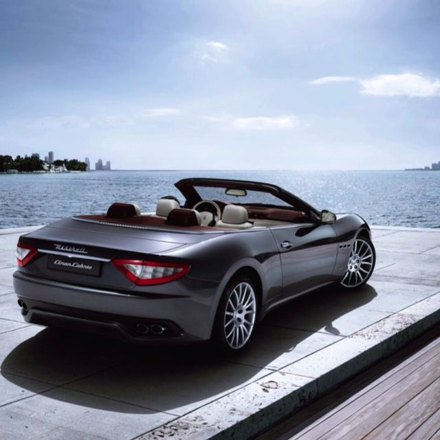 Lovely Maserati By The Water
