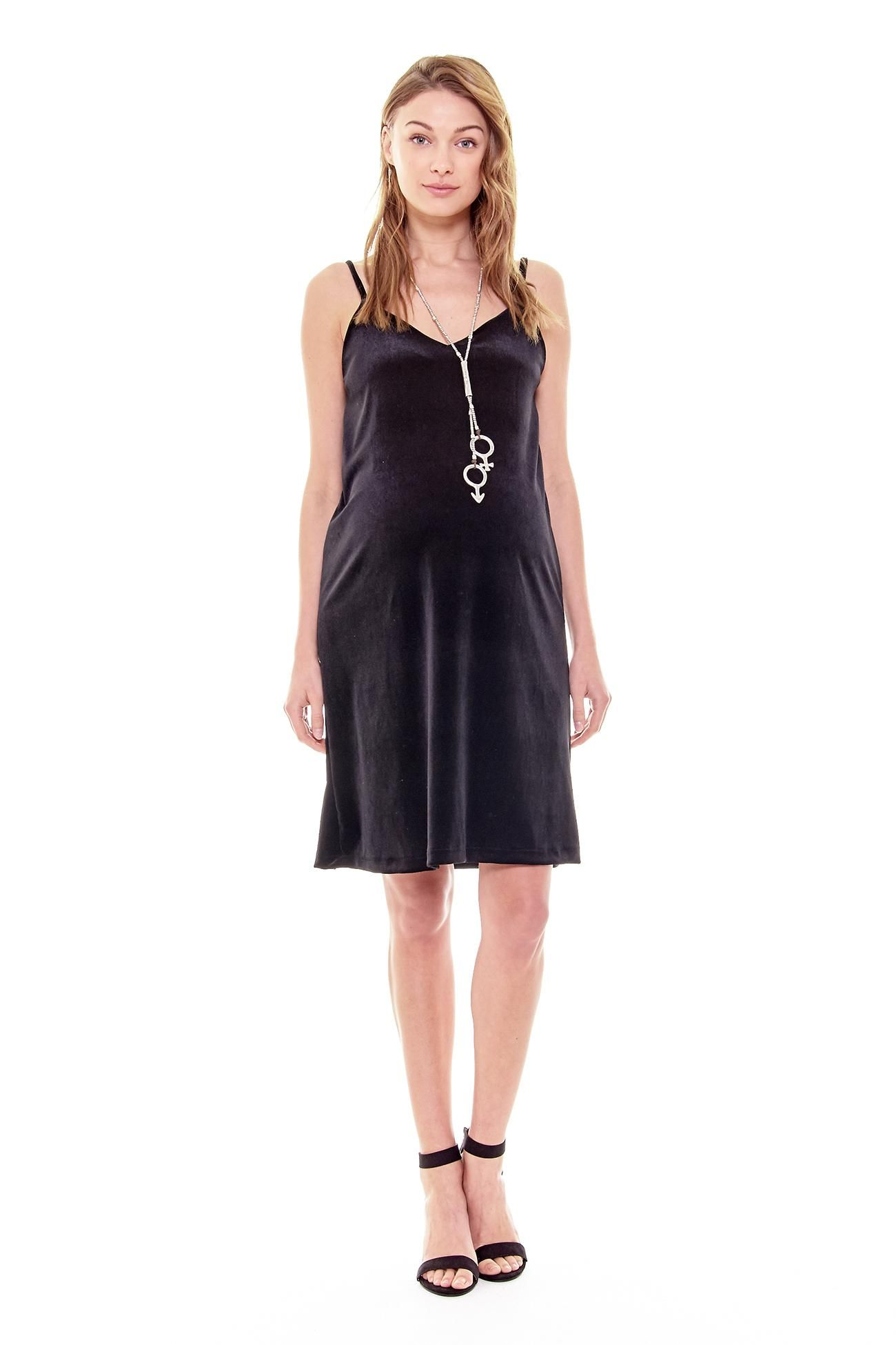 Buy marin maternitydress in black u blue colors at only from