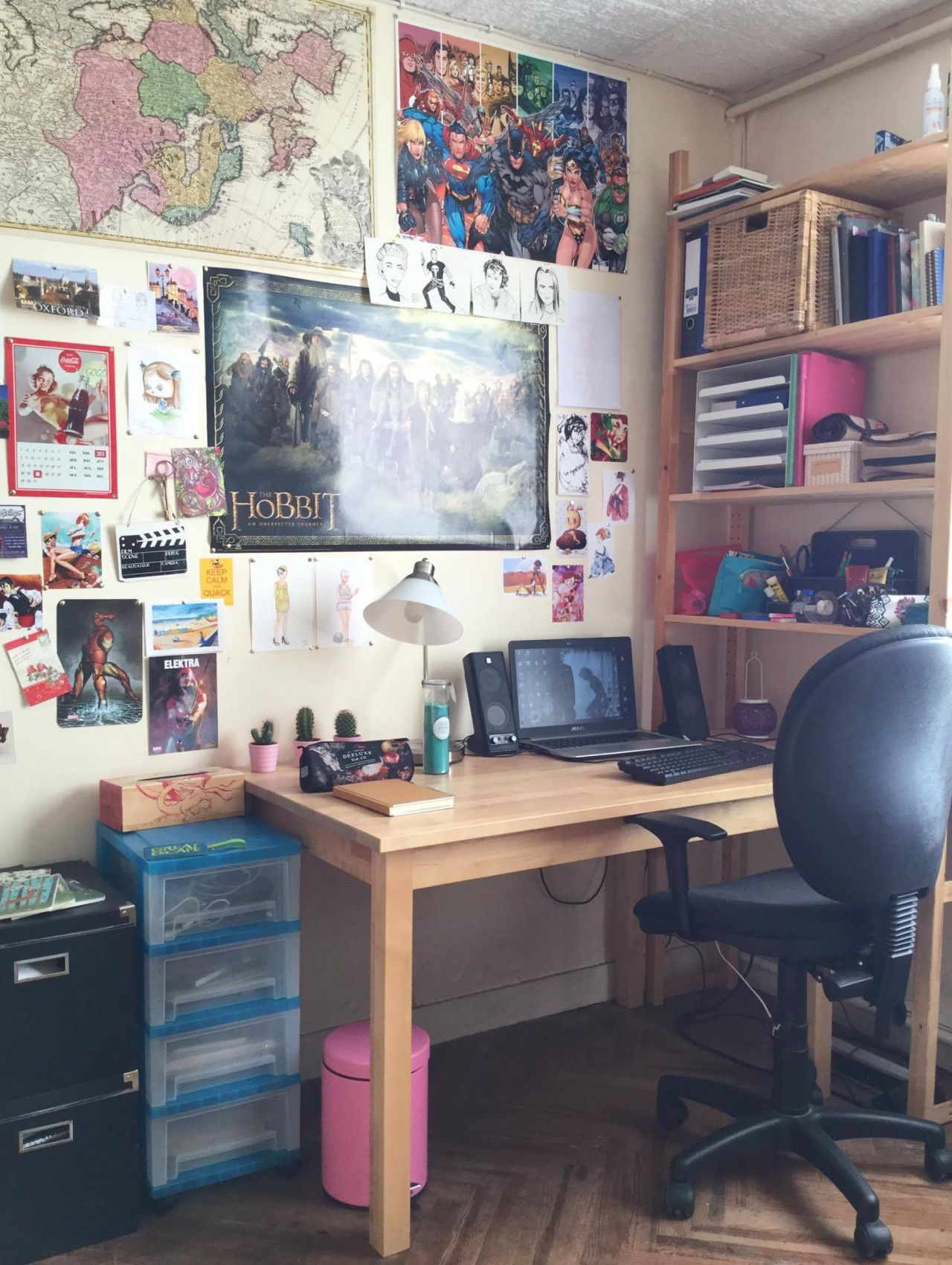 Pin by Cassidy Rae on Room Goals + Decor   Pinterest   Room goals, Study  areas and Desk