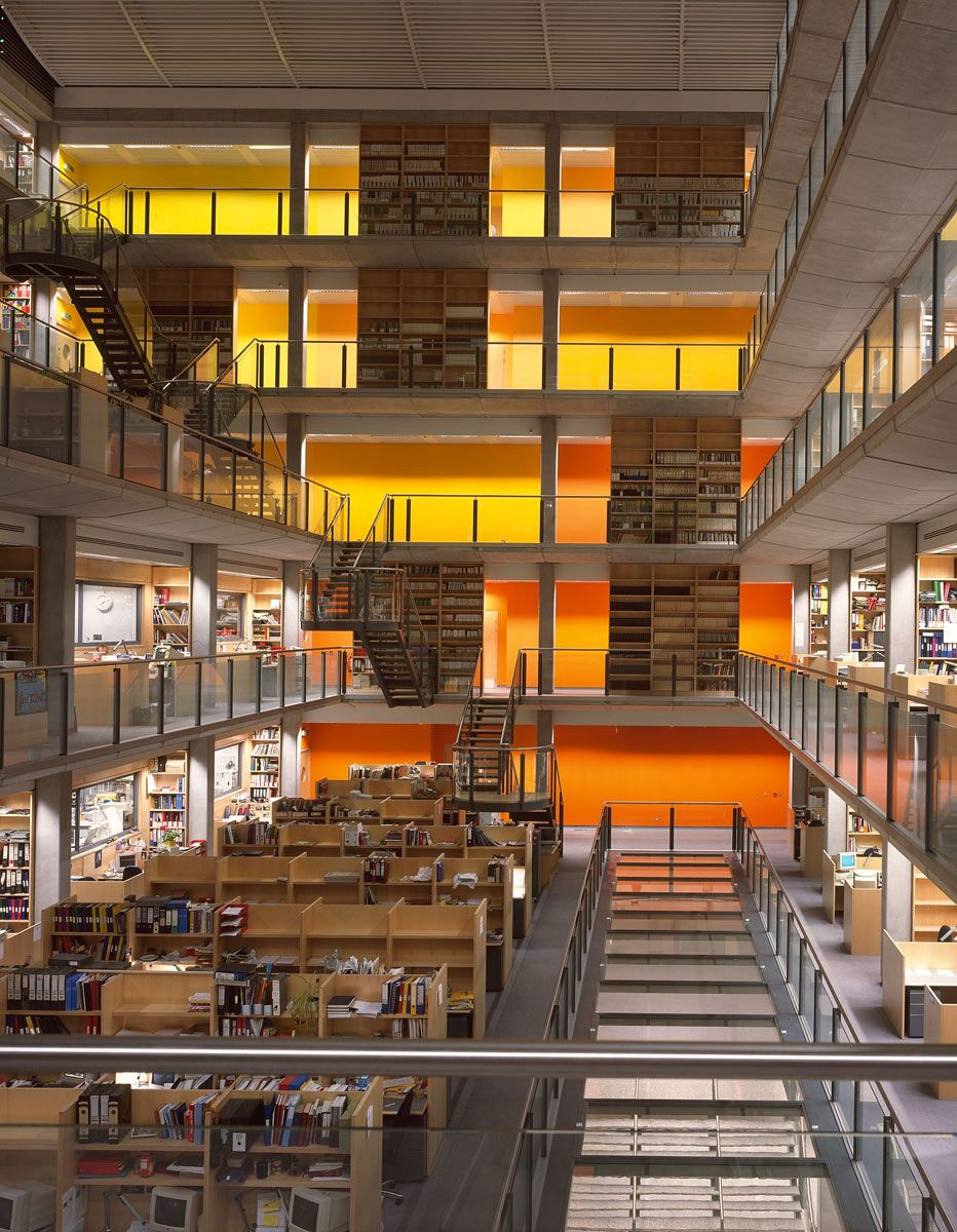 Imperial College Sir Alexander Fleming Building Interiors Projects Foster Partners Building Foster Partners Imperial College