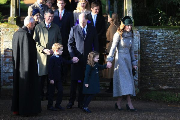 Kate Middleton Photos Photos The Royal Family Attend Church On Christmas Day
