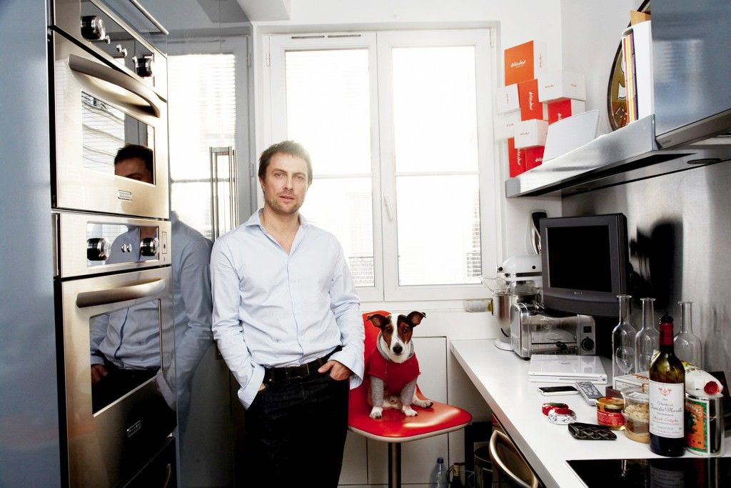 Sébastien Gaudard's Paris Kitchen Inside the Kitchens of 13 Top Chefs via @MyDomaine