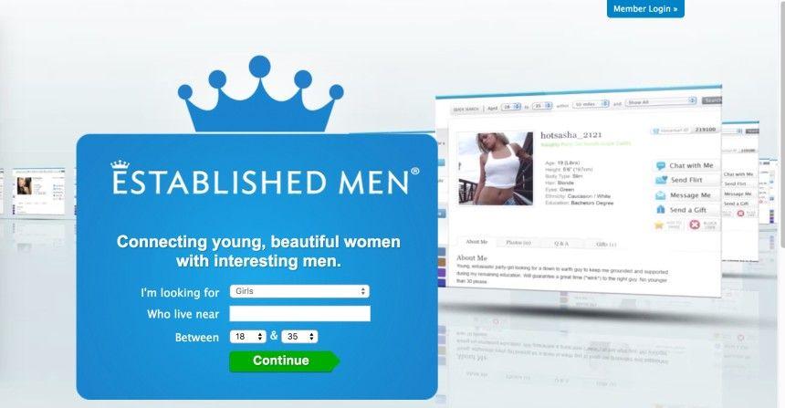Established men dating website