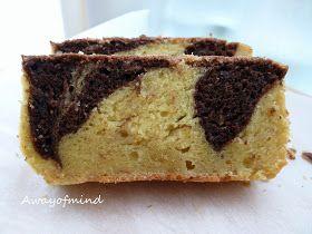 Awayofmind Bakery House: Banana Marble Pound Cake: a situation to share