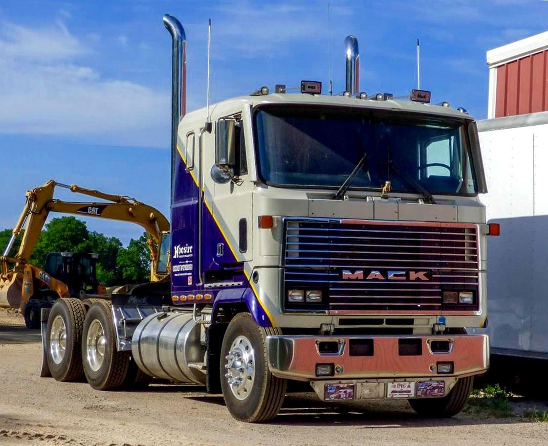 Mack Ultraliner COE   Steel Cowboys - Mack Cabovers   Pinterest ...