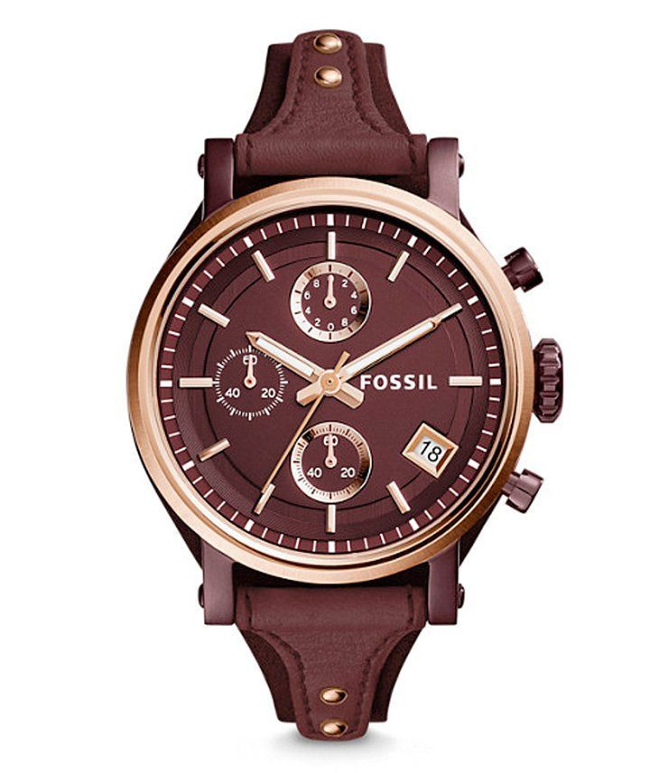 68fc704b0fdf Fossil Original Boyfriend Reloj para Dama Color Azul. Fossil Original  Boyfriend Watch - Women s Watches