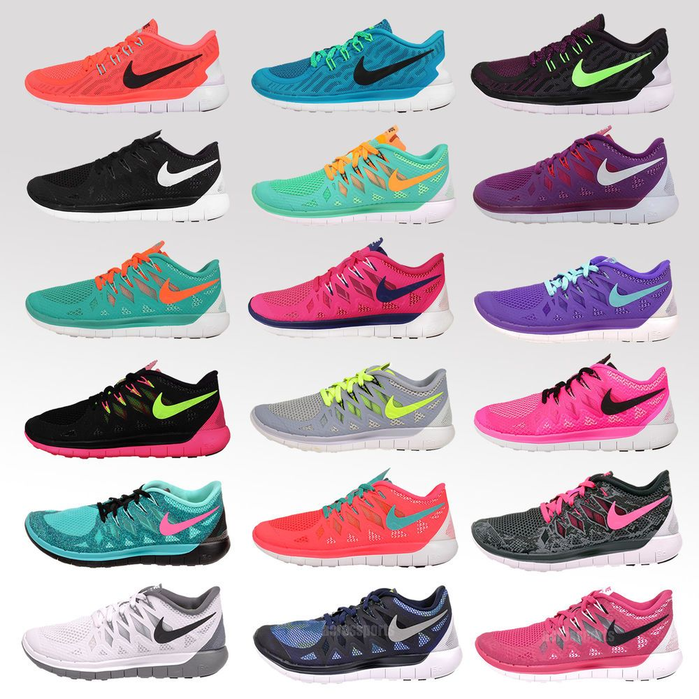 Nike Wmns Free 5.0 Womens Running Shoes Trainers NWOB in