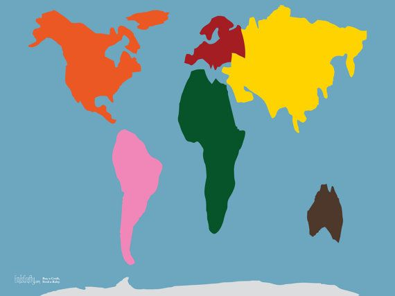 Pattern for world continent map peters projection interactive pattern for world continent map peters projection interactive on felt or paper 3x5 gumiabroncs Image collections