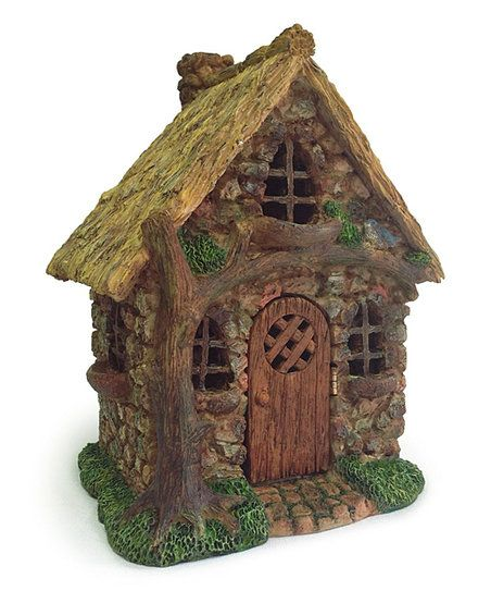 Marshall Home And Garden English Tree Cottage Fairy Garden Figurine | Zulily