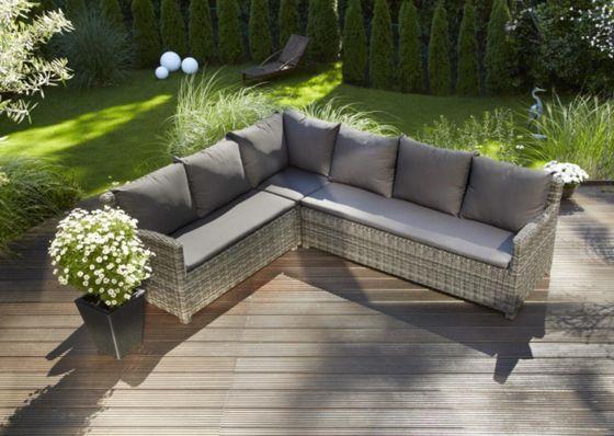 Loungegarnitur Miami 6 Teilig Lounge Garnitur Lounge Gartenmobel