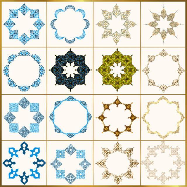 عالية مثمنة الإسلامية هق اسلامية الإسلامية العربية Png وملف Psd للتحميل مجانا Islamic Pattern Abstract Pattern Christmas Frames
