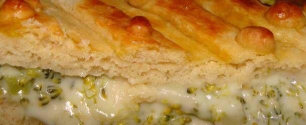 Torta cremosa de brócolis