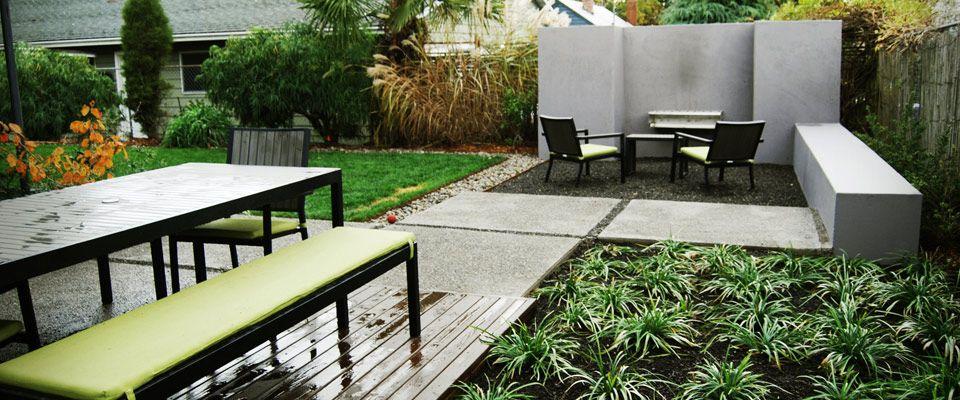 Hardscape design landline design modern landscape for Contemporary landscape architecture